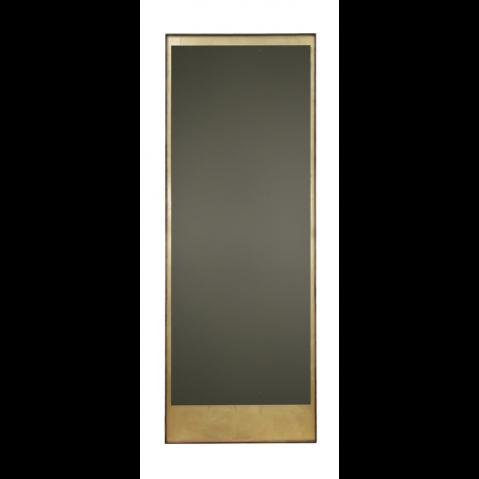 mural rectangulaire 198x76 Gold Leaf avec cadre en bois de Notre Monde