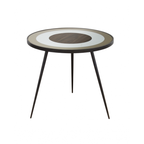 Table d'appoint Gold Bullseye de Notre Monde, Large