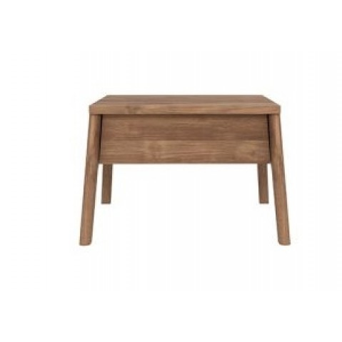 Table de chevet AIR d'Ethnicraft, Teck