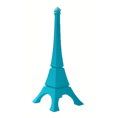 Tour Eiffel Qui est Paul Turquoise
