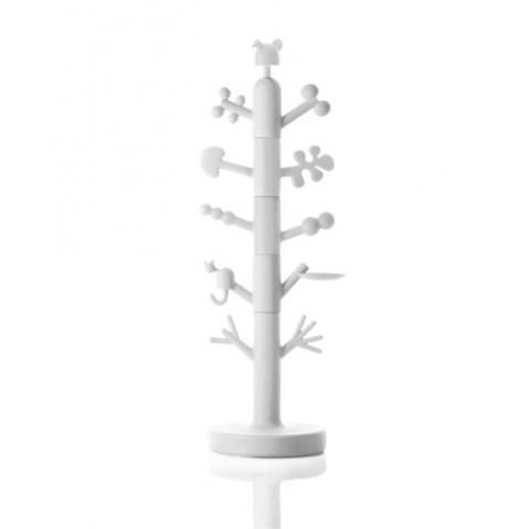 Manteaux Modulable Pour Enfant PARADISE TREE De Magis Blanc Opaque - Porte manteau enfants