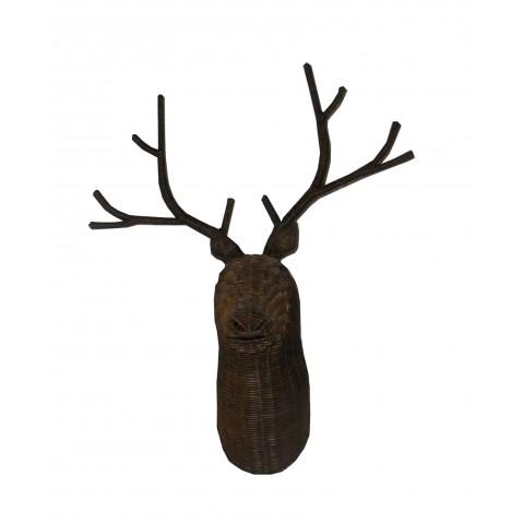 Trophée CERF brun petit modèle