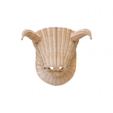 Trophée TORO TORO naturel 30 cm