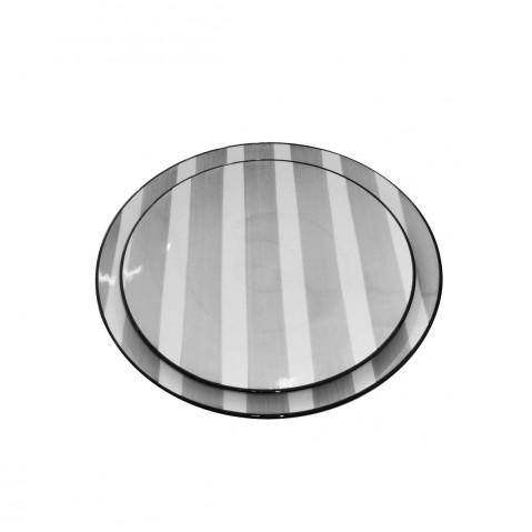 Vaisselle RUBELLI GRIS Assiette Plate