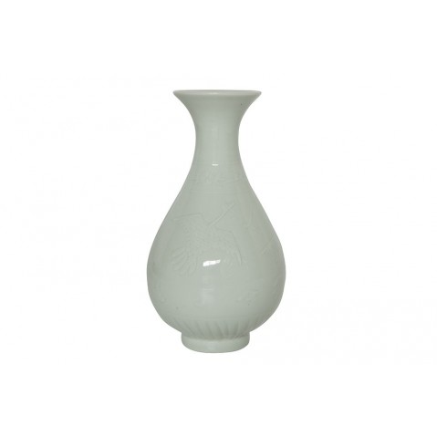 Vase Fenna de Flamant, Bleu