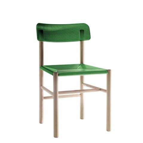 Chaise TRATTORIA de Magis vert