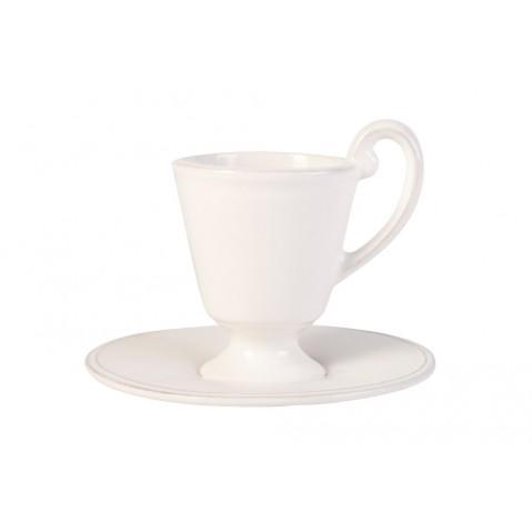 Verre Voile Tasse et sous-tasse de Flamant