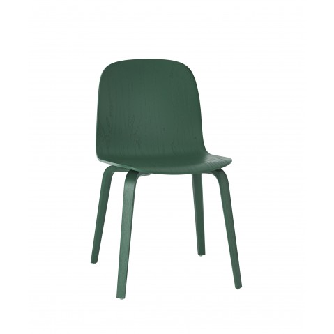 Chaise VISU en bois de Muuto, 9 coloris