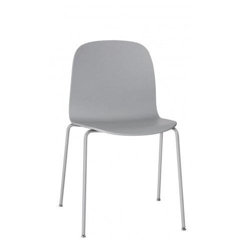Chaise VISU tube base, de Muuto, 3 coloris