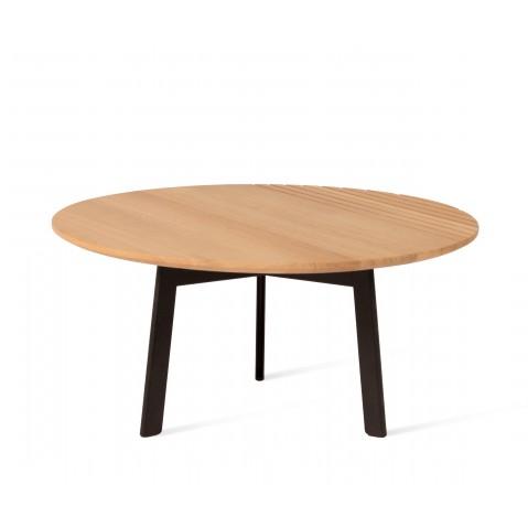 Table basse GROOVE OAK Naturel de Vincent Sheppard, 2 tailles