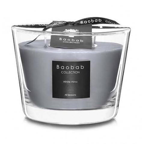 Bougie WHITE RHINO de Baobab Collection, 4 tailles
