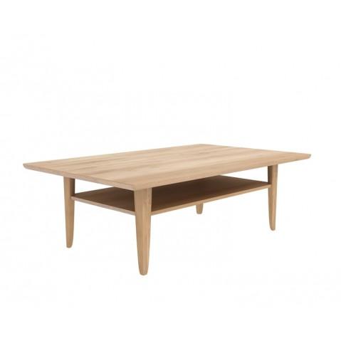 table basse simple d 39 ethnicraft 2 tailles. Black Bedroom Furniture Sets. Home Design Ideas