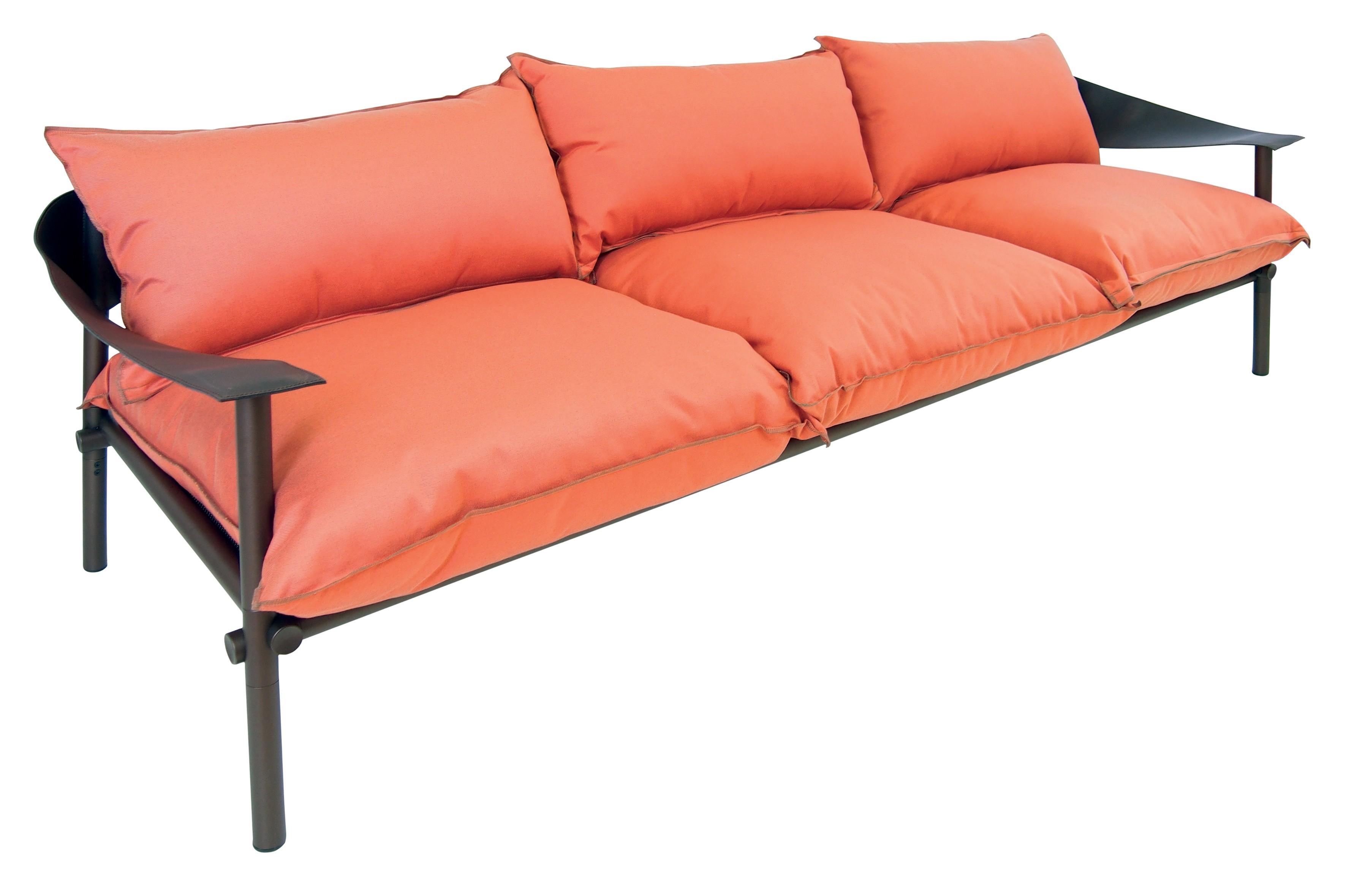 Sofa 3 places terramare avec coussins de emu for Places to get couches