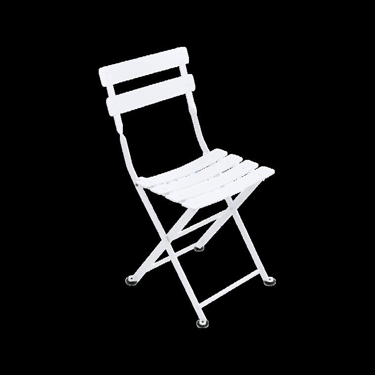 Chaise tom pouce de fermob blanc coton - Fermob tom pouce ...