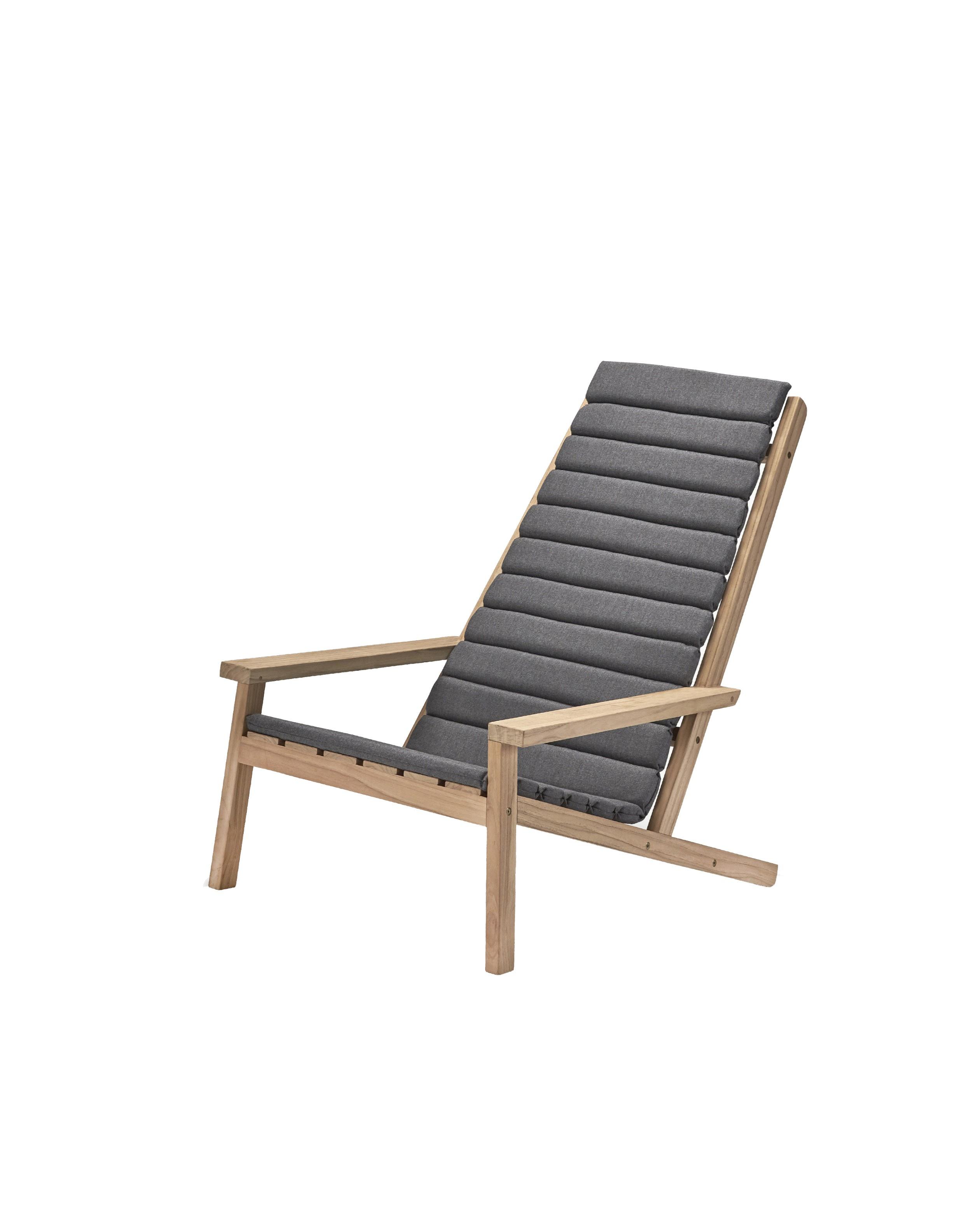 fauteuil bas en teck between lines de skagerak 2 options. Black Bedroom Furniture Sets. Home Design Ideas