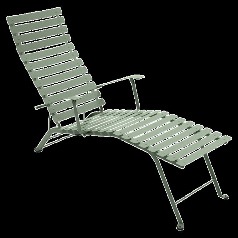 chaise longue pliante bistro de fermob cactus. Black Bedroom Furniture Sets. Home Design Ideas