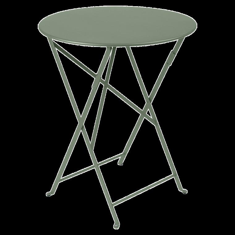 Fermob table ronde pliante bistro de fermob x - Table bistro fermob ...