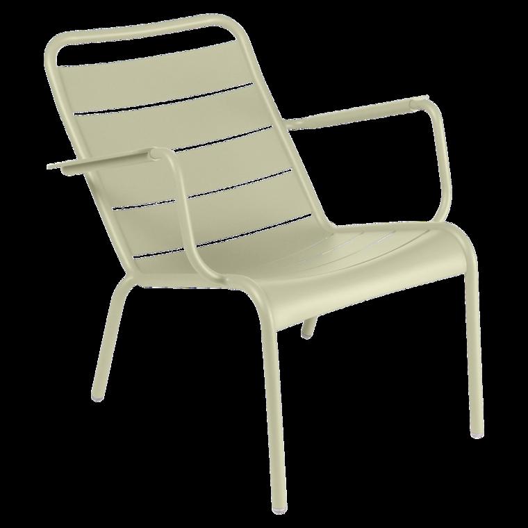 Lounger Chaise Longue Luxembourg De Fermob Couleur Vert