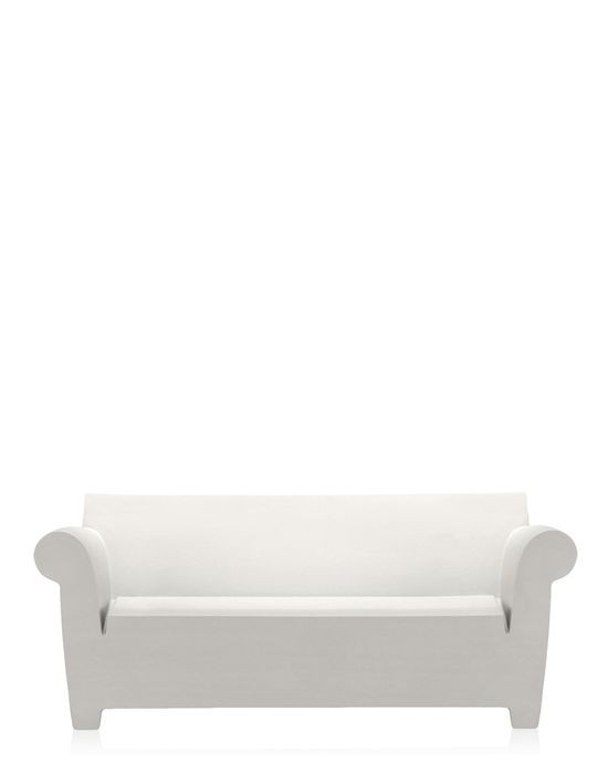 Canap bubble club de kartell blanc zinc for Canape bubble