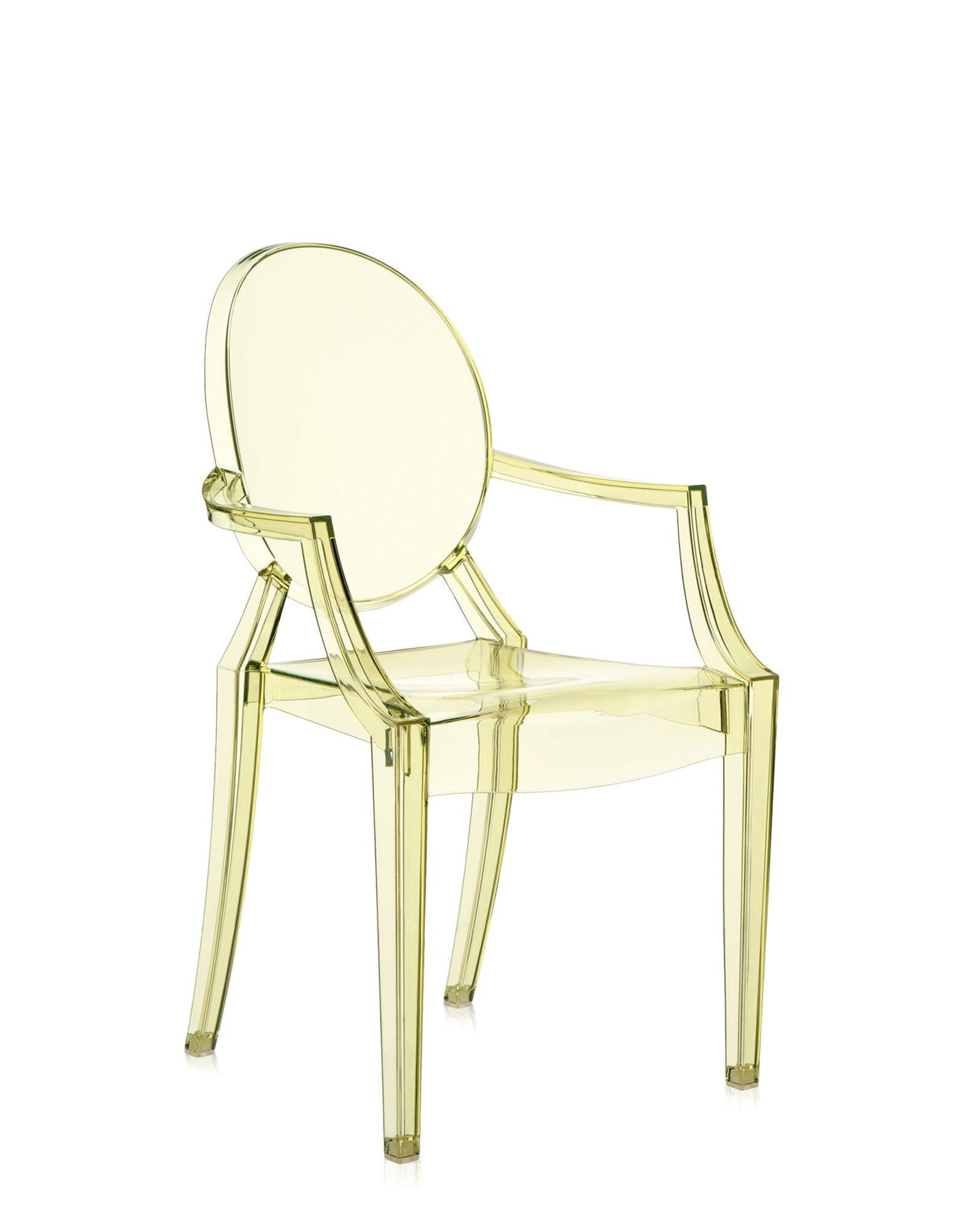 Fauteuil Louis Ghost De Philippe Starck fauteuil louis ghost de kartell, jaune