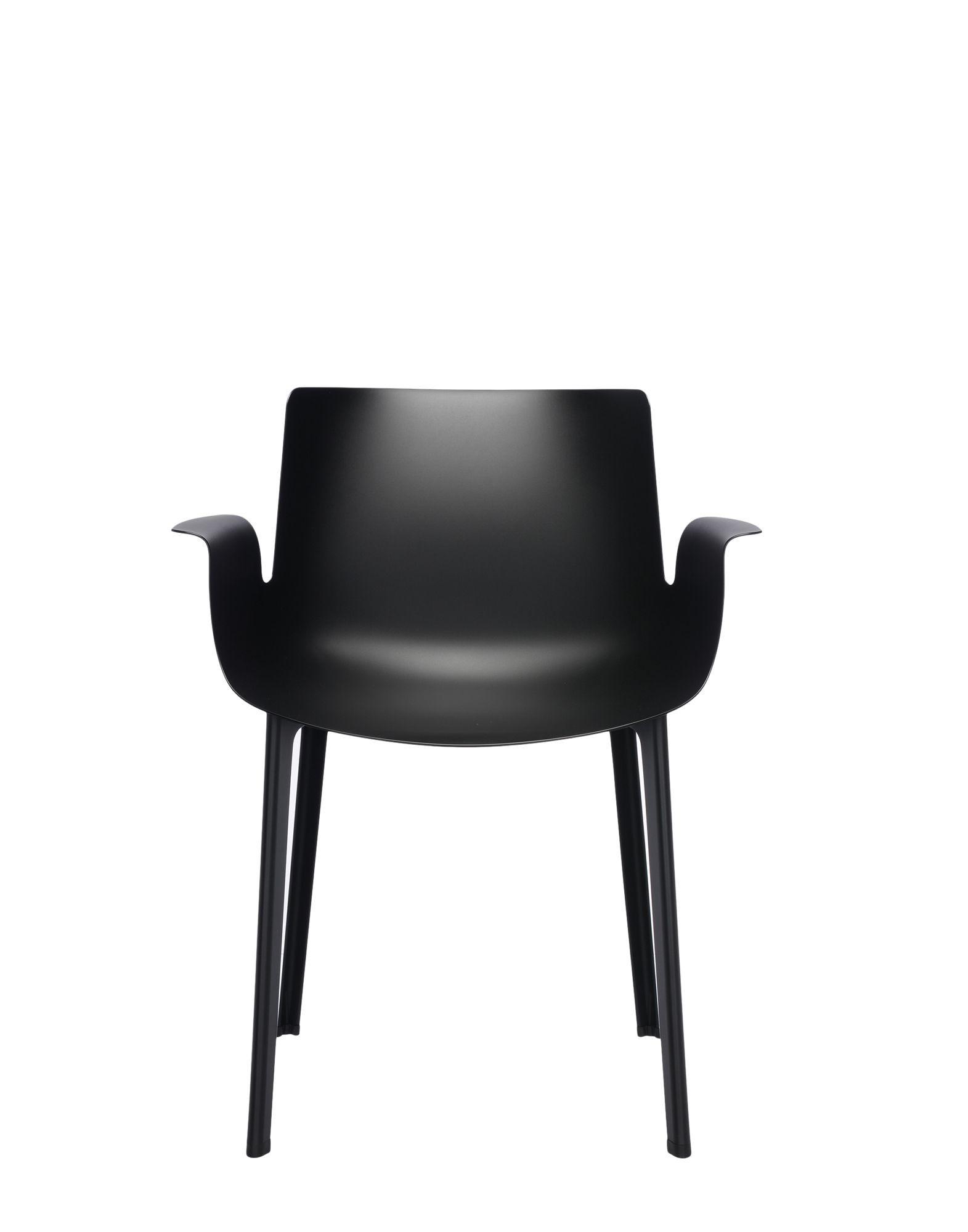 fauteuil piuma de kartell noir. Black Bedroom Furniture Sets. Home Design Ideas
