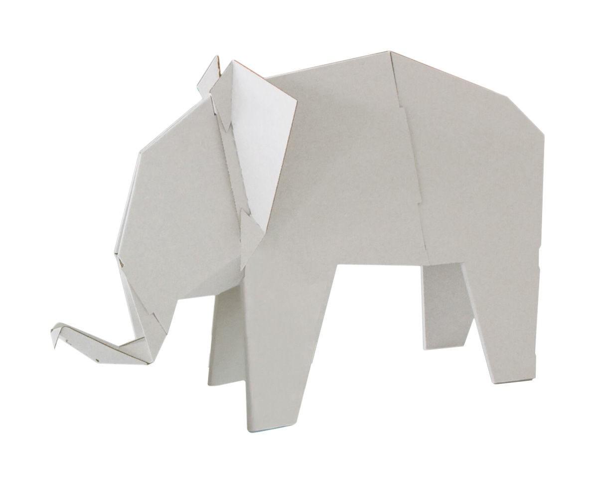 figurine d 39 animaux en carton my zoo de magis large el phant. Black Bedroom Furniture Sets. Home Design Ideas