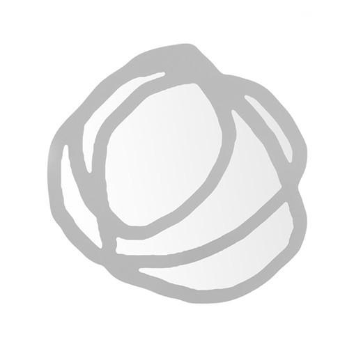 Miroir sweet 98 de gervasoni petit mod le blanc for Petit miroir blanc