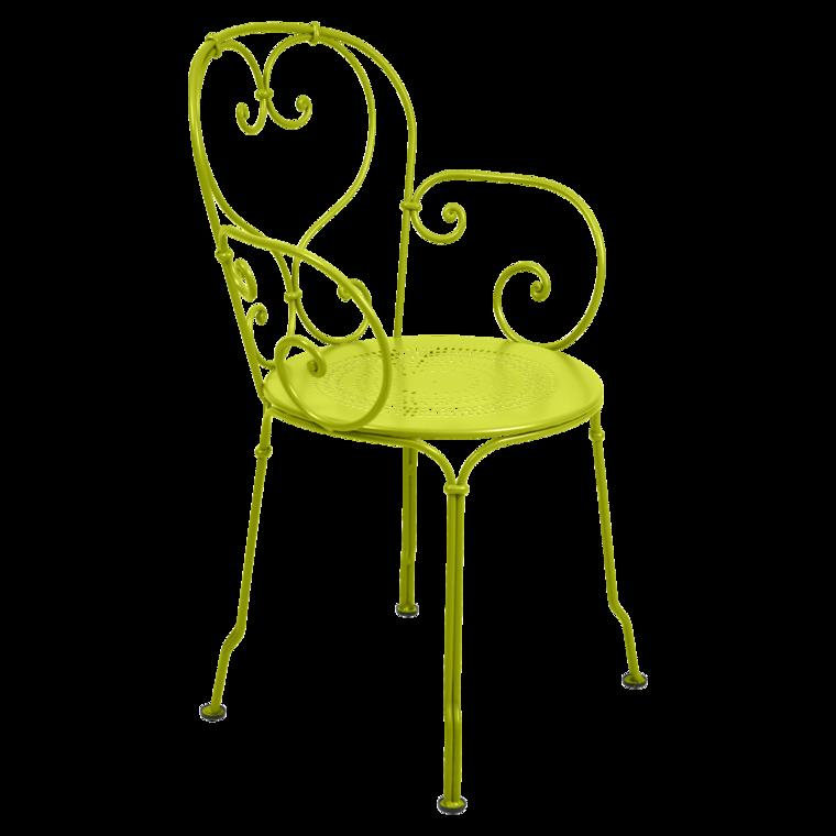 fauteuil 1900 de fermob verveine. Black Bedroom Furniture Sets. Home Design Ideas