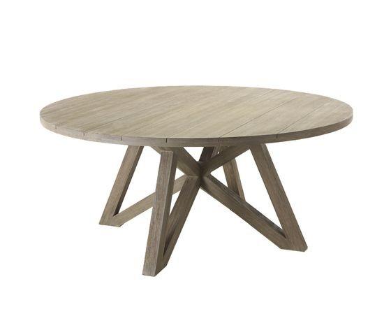 Table CROISETTE en teck de Unopiu\'
