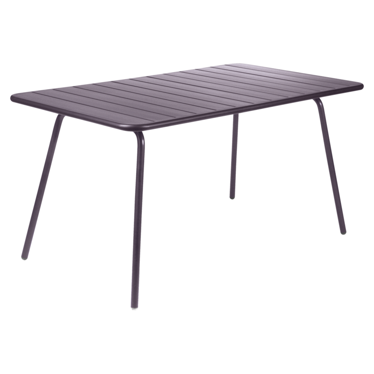 Table luxembourg de fermob prune for Table luxembourg fermob