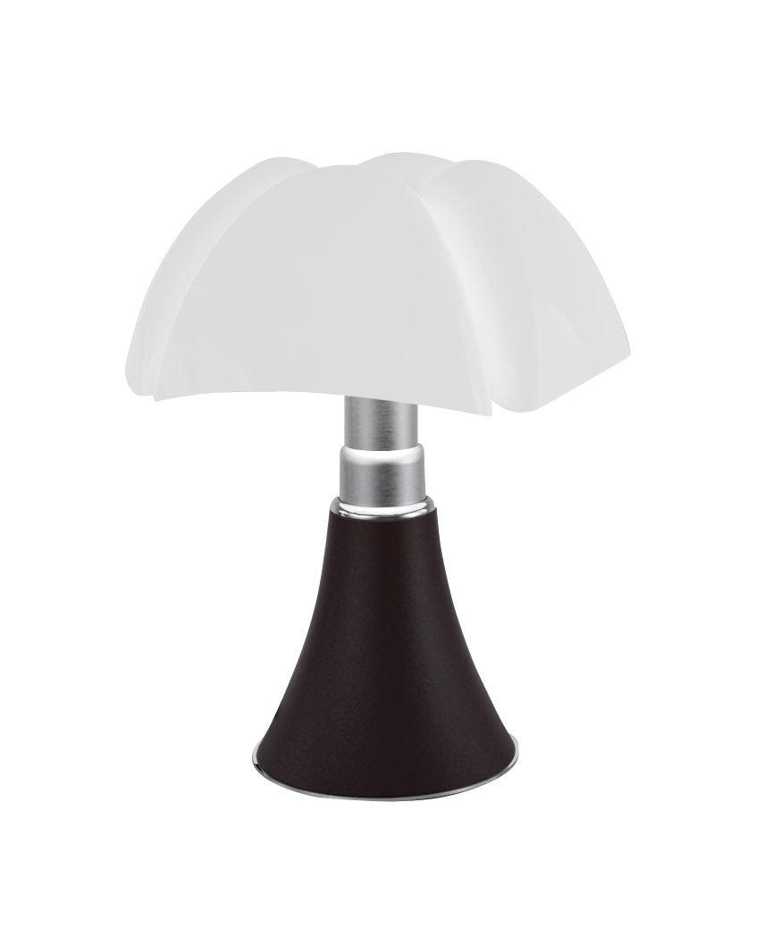 Lampe A Poser Mini Pipistrello Sans Fil De Martinelli Luce Marron Fonce