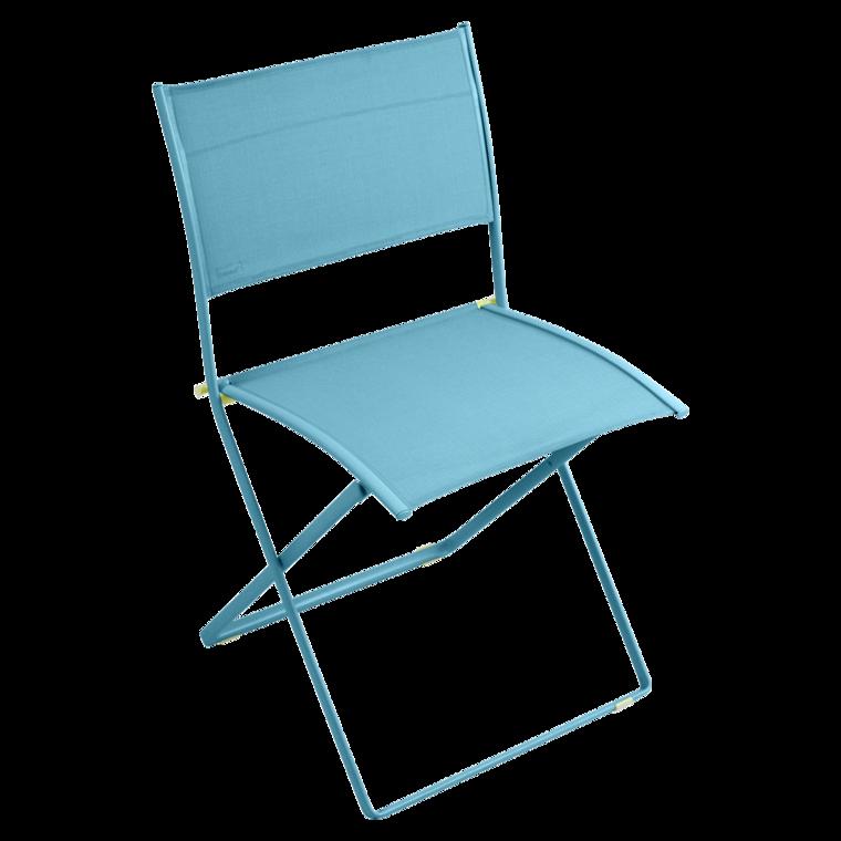 Chaise Pliante PLEIN AIR De Fermob Bleu Turquoise