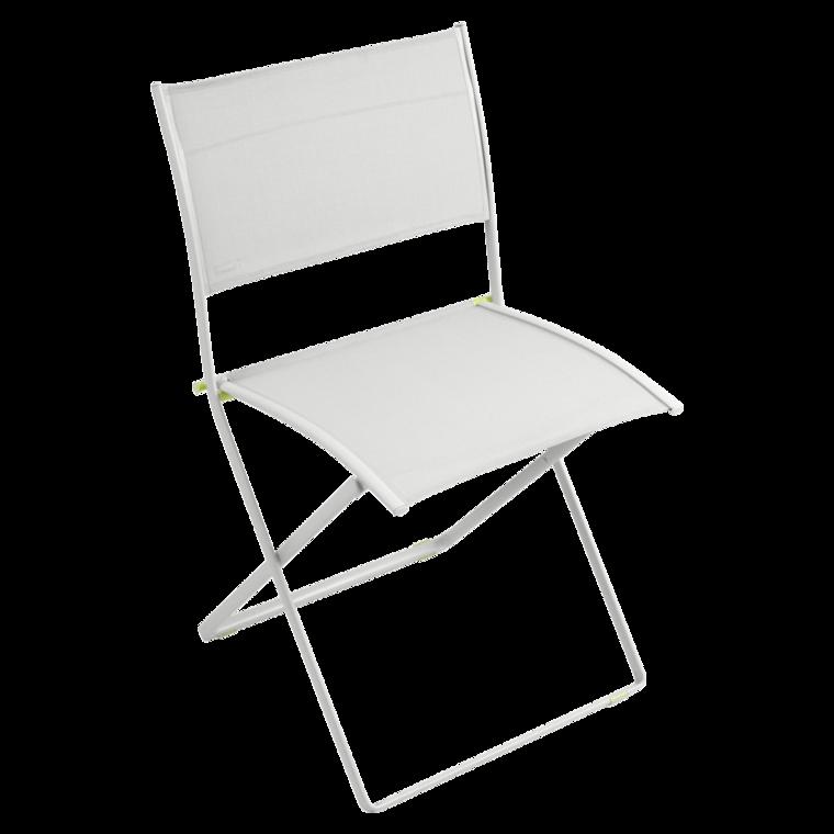 chaise pliante plein air de fermob gris m tal. Black Bedroom Furniture Sets. Home Design Ideas