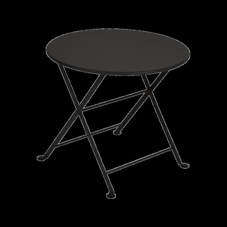 table basse enfant tom pouce de fermob noir r glisse. Black Bedroom Furniture Sets. Home Design Ideas