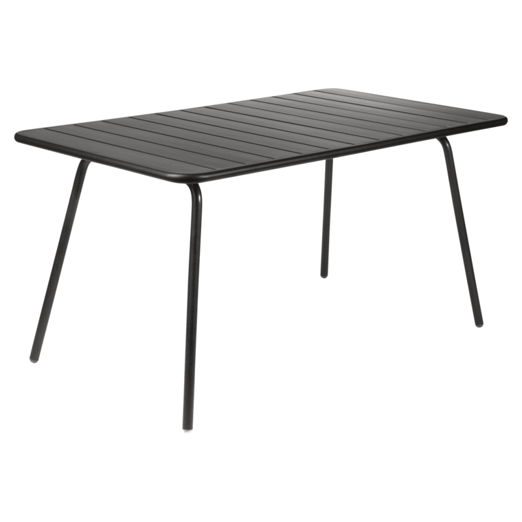 Table luxembourg de fermob r glisse for Table exterieur fermob