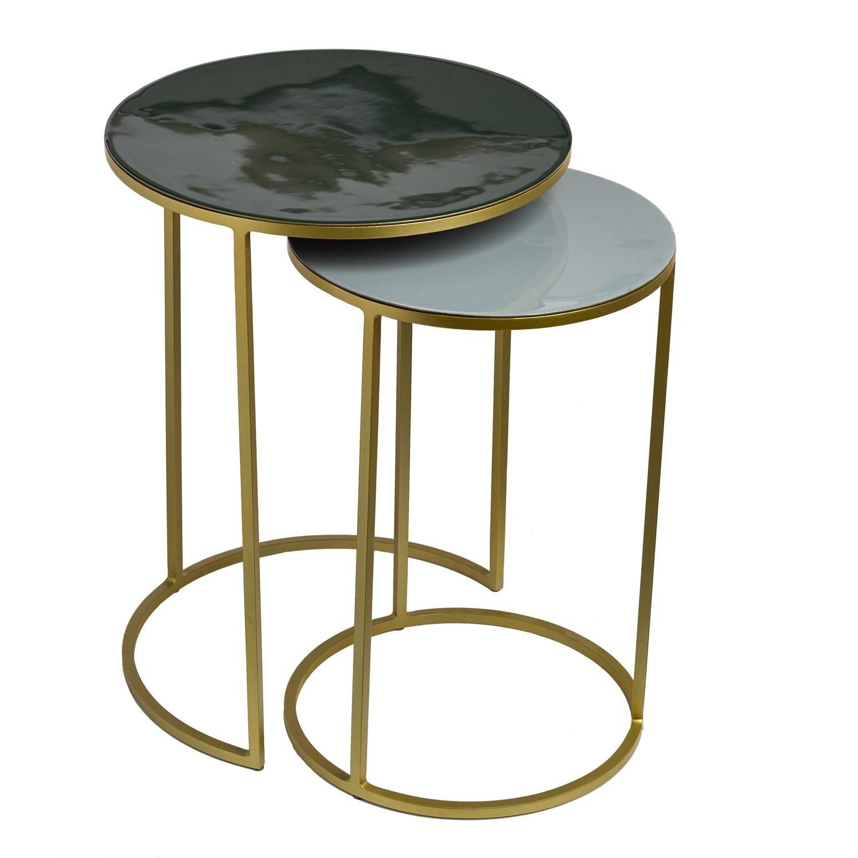 set bout de canap amalia de pols potten 2 coloris. Black Bedroom Furniture Sets. Home Design Ideas