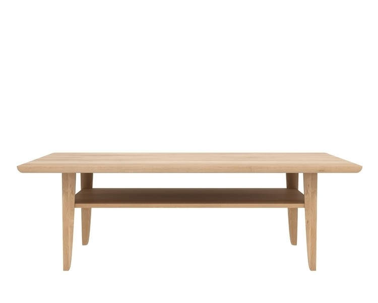 Table basse simple d 39 ethnicraft 2 tailles for Table basse ethnicraft