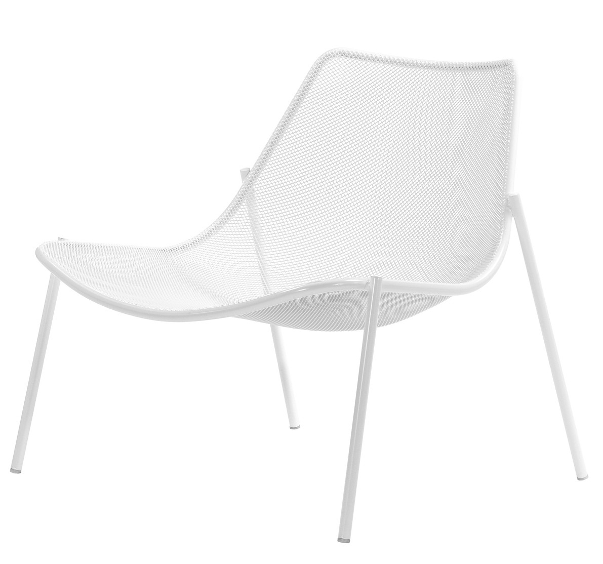 fauteuil bas round de emu. Black Bedroom Furniture Sets. Home Design Ideas