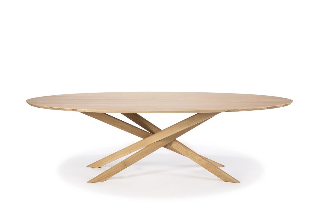 Chêne Table D'ethnicraft Mikado Basse En O8k0wNPXn