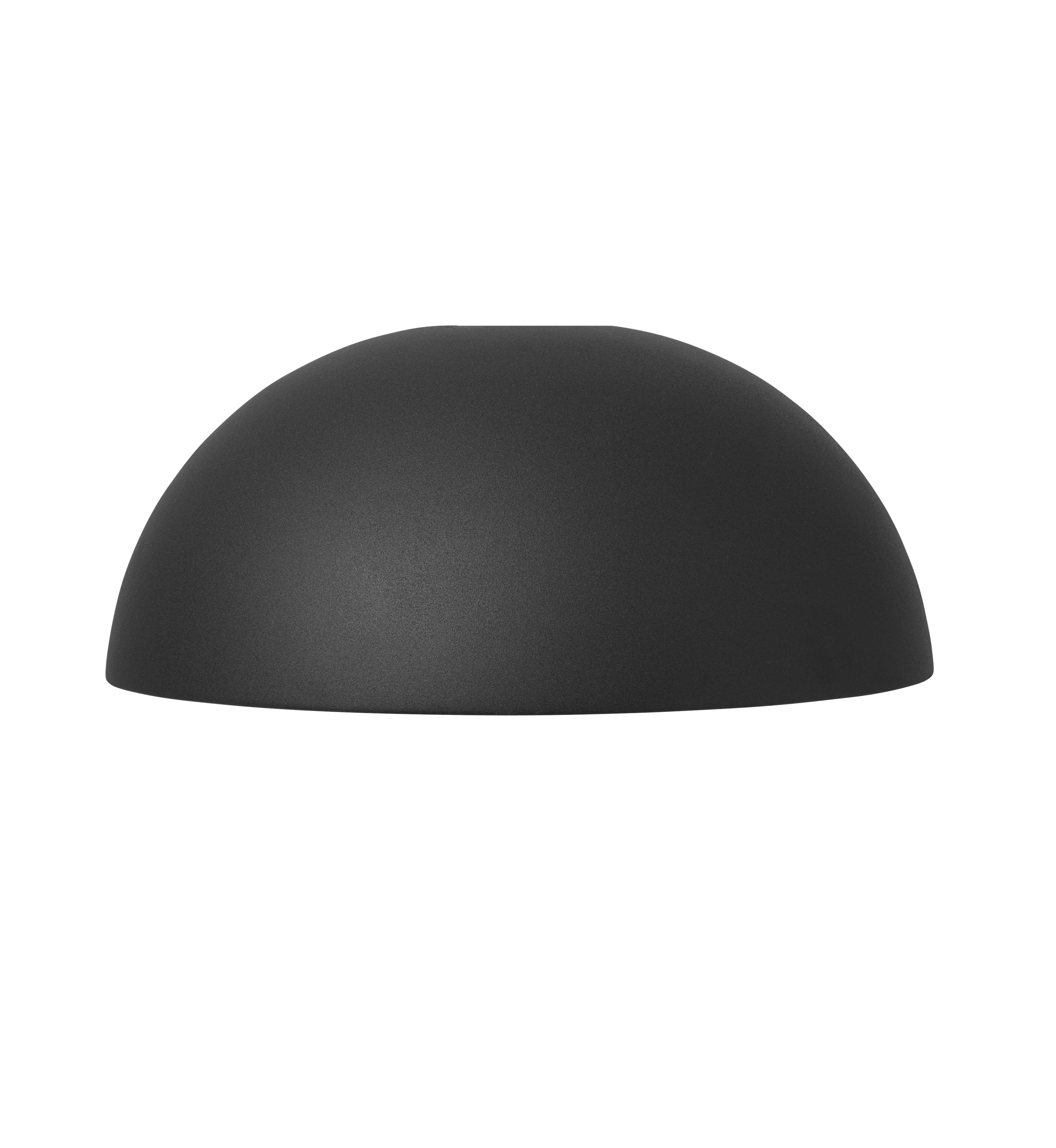 abat jour dome collect collection de ferm living black. Black Bedroom Furniture Sets. Home Design Ideas