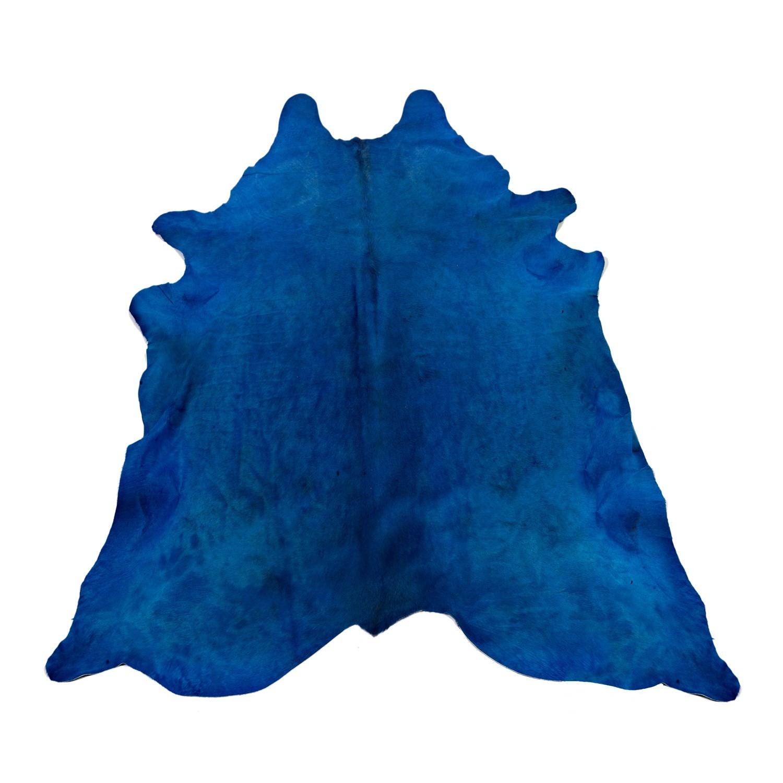 peau de b te en cuir bullskin de pols potten bleu. Black Bedroom Furniture Sets. Home Design Ideas