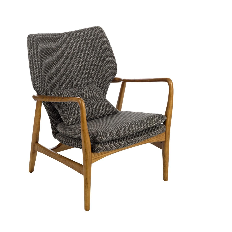fauteuil peggy de pols potten gris. Black Bedroom Furniture Sets. Home Design Ideas