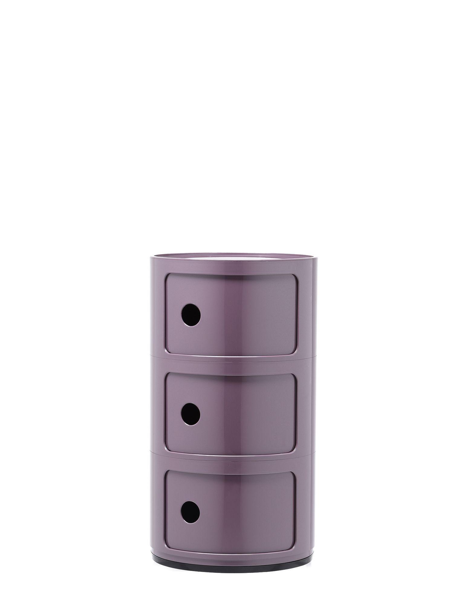 meuble de rangement componibili de kartell moyen mod le violet. Black Bedroom Furniture Sets. Home Design Ideas