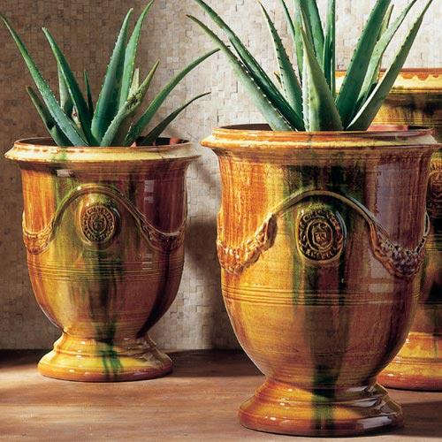 Vase d 39 anduze email flamm - Poterie anduze boisset prix ...