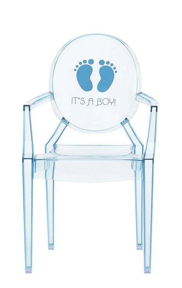 fauteuil lou lou de kartell bleu clair boy. Black Bedroom Furniture Sets. Home Design Ideas