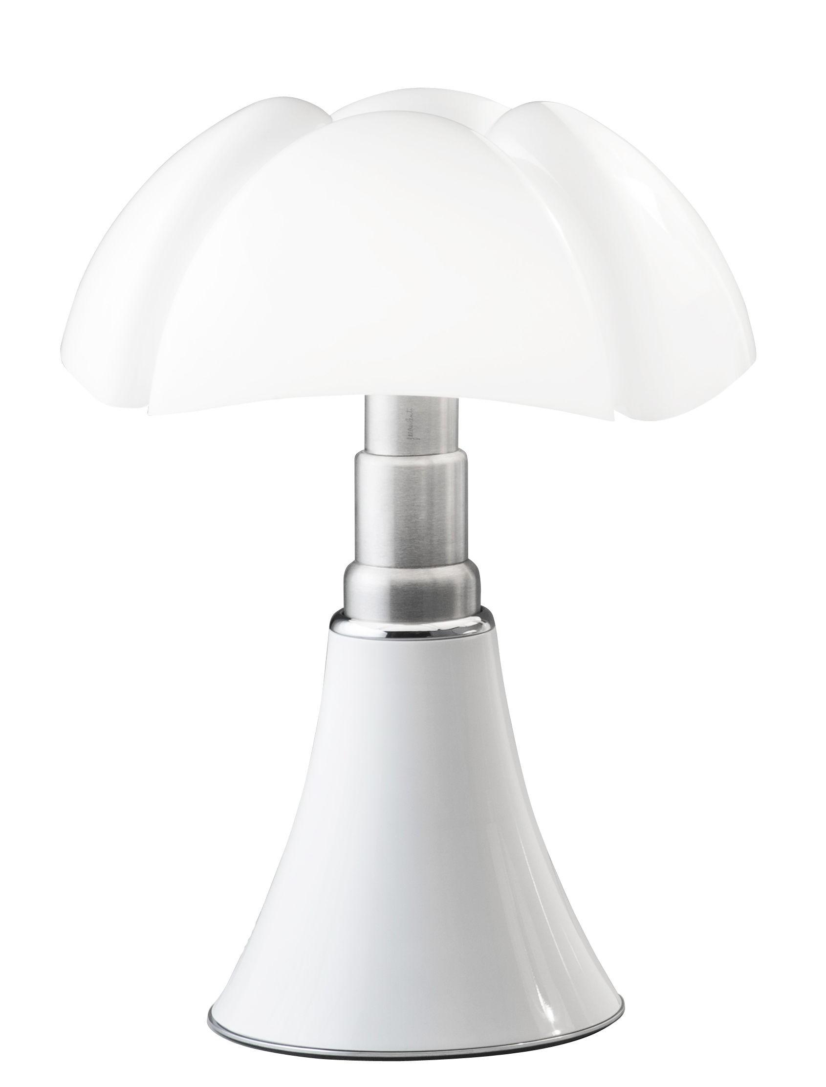 Lampe à poser PIPISTRELLO MEDIUM de Martinelli Luce, Blanc dc0d43fb054e