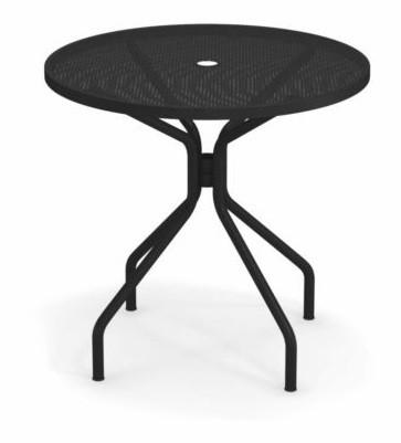 table ronde cambi de emu 80 cm noir. Black Bedroom Furniture Sets. Home Design Ideas