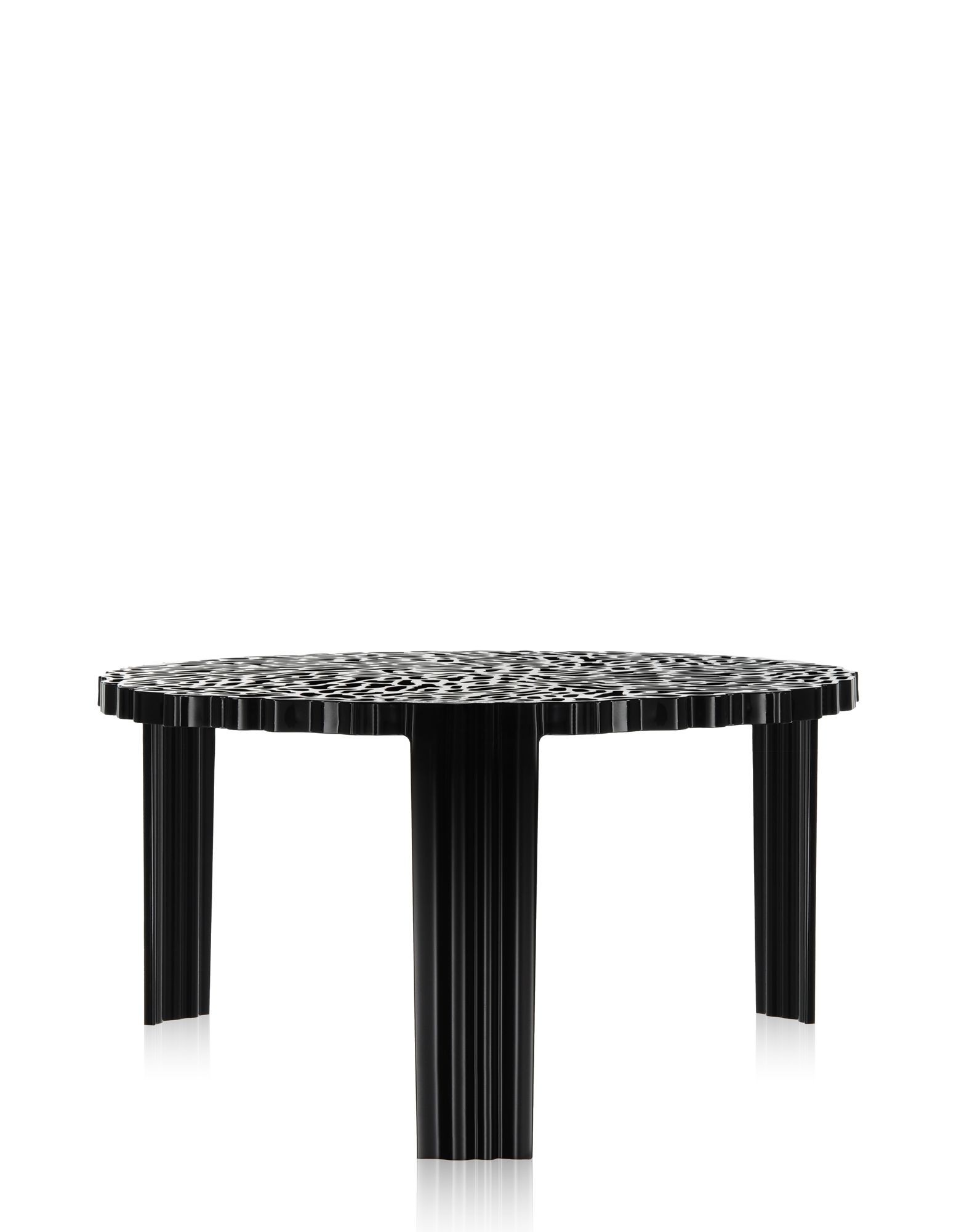 table basse t table de kartell 3 tailles 4 coloris. Black Bedroom Furniture Sets. Home Design Ideas
