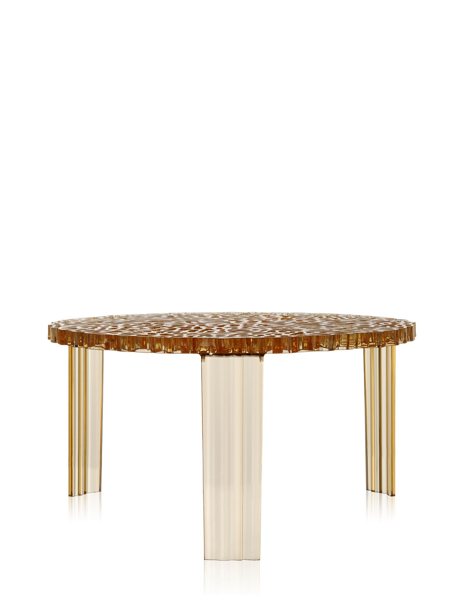 table basse t table de kartell ambre. Black Bedroom Furniture Sets. Home Design Ideas