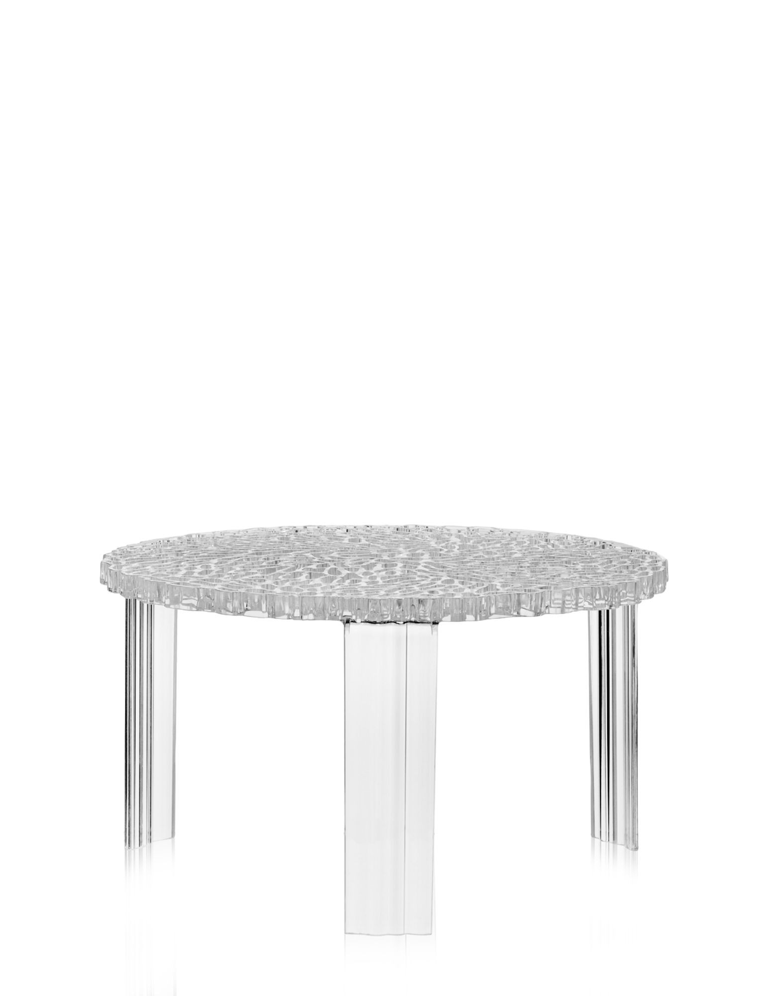 table basse t table de kartell cristal. Black Bedroom Furniture Sets. Home Design Ideas